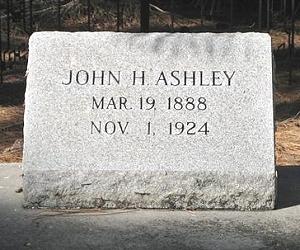 John Ashley grave