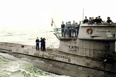 German U-boat type VllC
